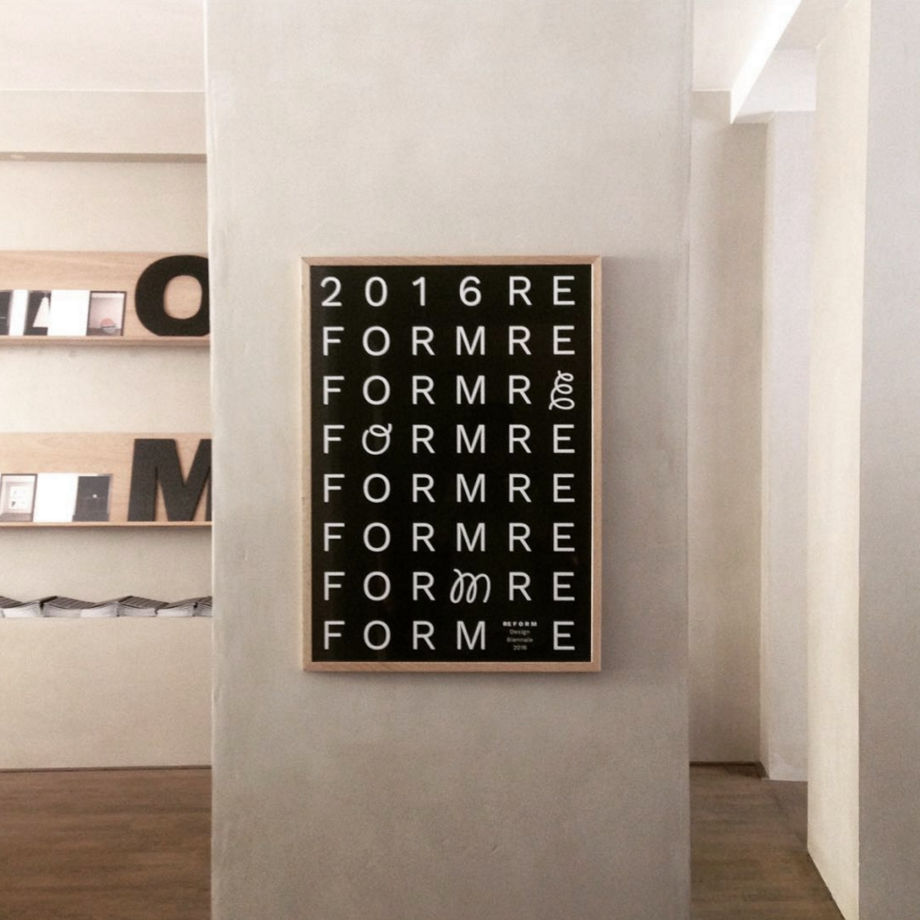 RE F O R M Design Biennale Opening