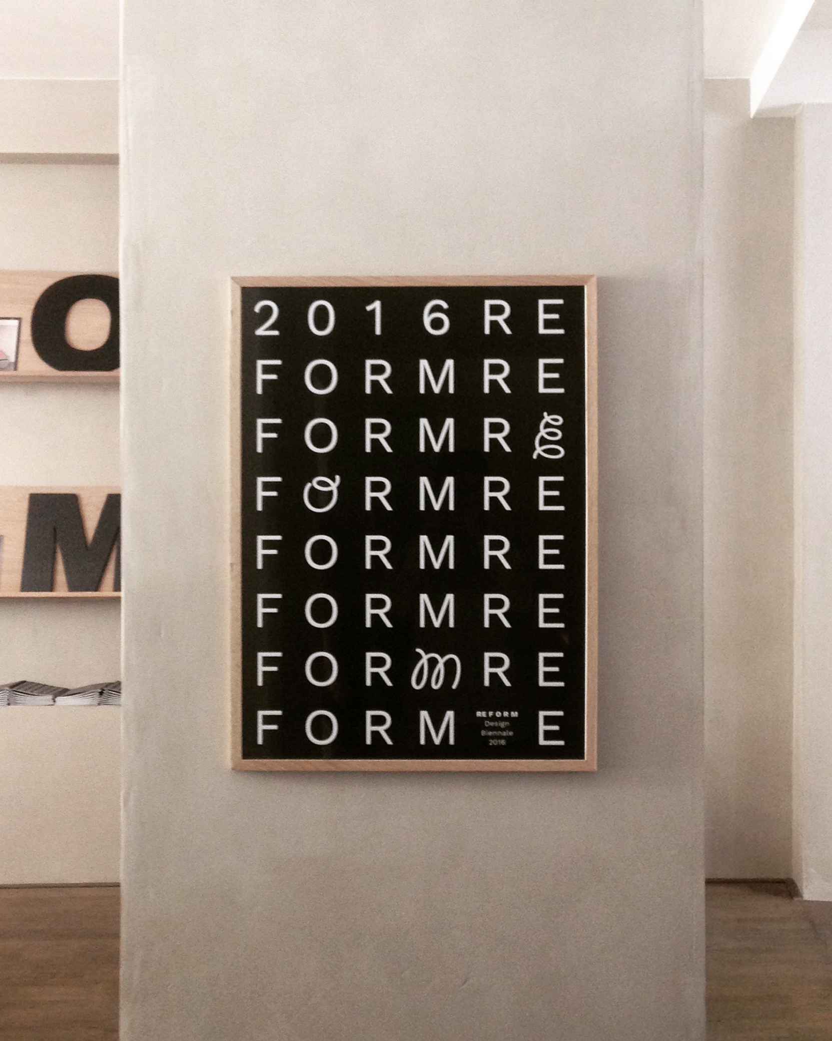 RE F O R M Design Biennale RE F O R M 2016