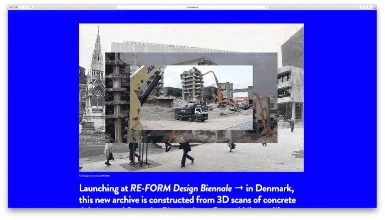 RE F O R M Design Biennale Gareth Proskourine-Barnett